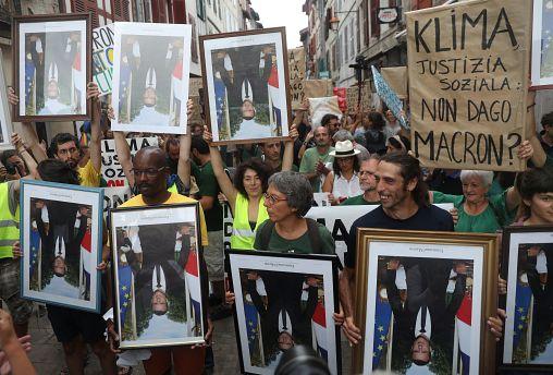 "Протесты против ""семерки"""