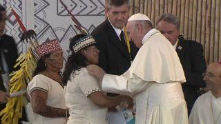 Il Papa prega per l'Amazzonia e non solo per la fine degli incendi