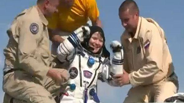 Anne McClain visszatért a Földre küldetéséről