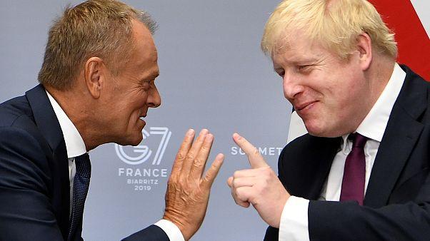 Brexit : assaut d'amabilités sur fond de guerre des nerfs
