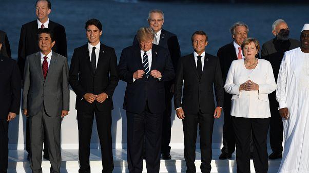 El ministro de Exteriores de Irán aterriza por sorpresa en Biarritz durante el G7