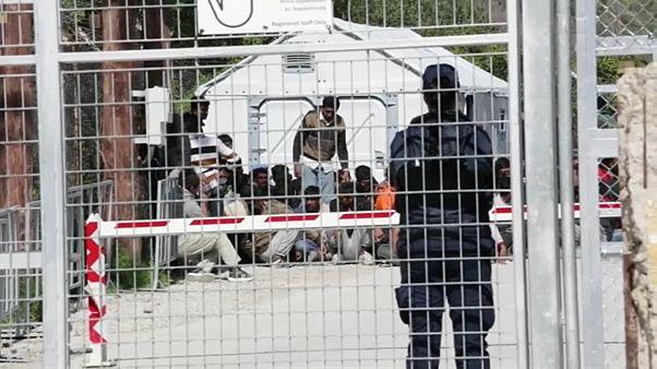 Asesinato entre menores en el campamento de Moria