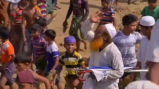 Gedenken an Rohingya-Vertreibung