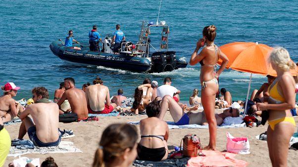 Βαρκελώνη: Εκκενώθηκε παραλία - Εντοπίστηκε βόμβα από τον εμφύλιο