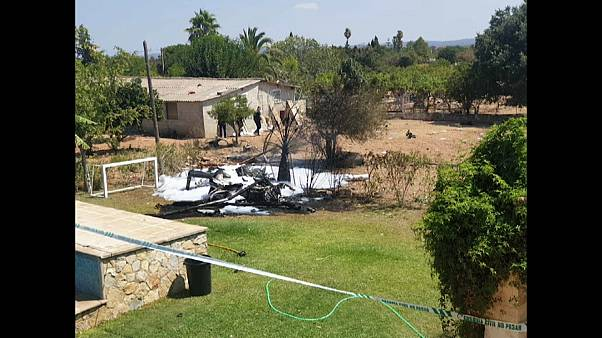 مقتل 7 أشخاص في تصادم بين طائرة هليكوبتر وطائرة صغيرة في مايوركا