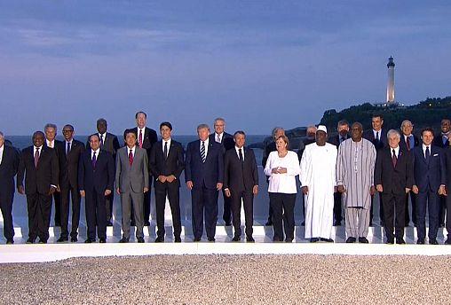 G7: блиц-визит иранского гостя