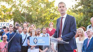 Στην Ακαδημία Πλάτωνος ορκίστηκε ο νέος δήμαρχος της Αθήνας Κώστας Μπακογιάννης