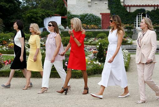 Spouses of G7 leaders visit Basque country