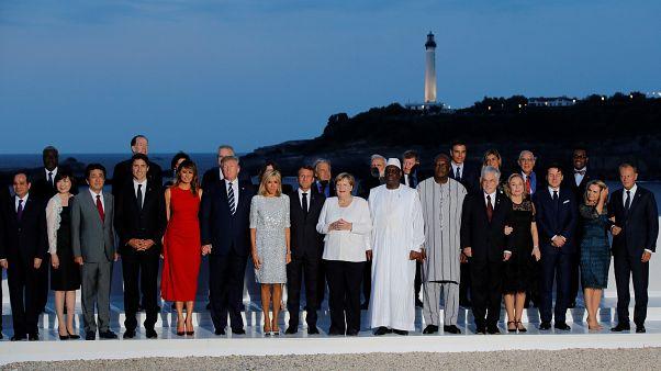 Tensões e críticas a Macron no segundo dia da cimeira do G7