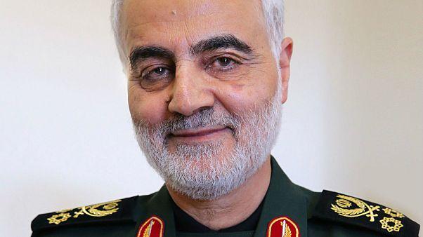 قاسم سليماني قائد فيلق القدس