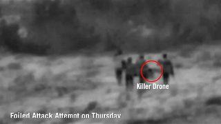 Überwachungsvideo des israelischen Militärs