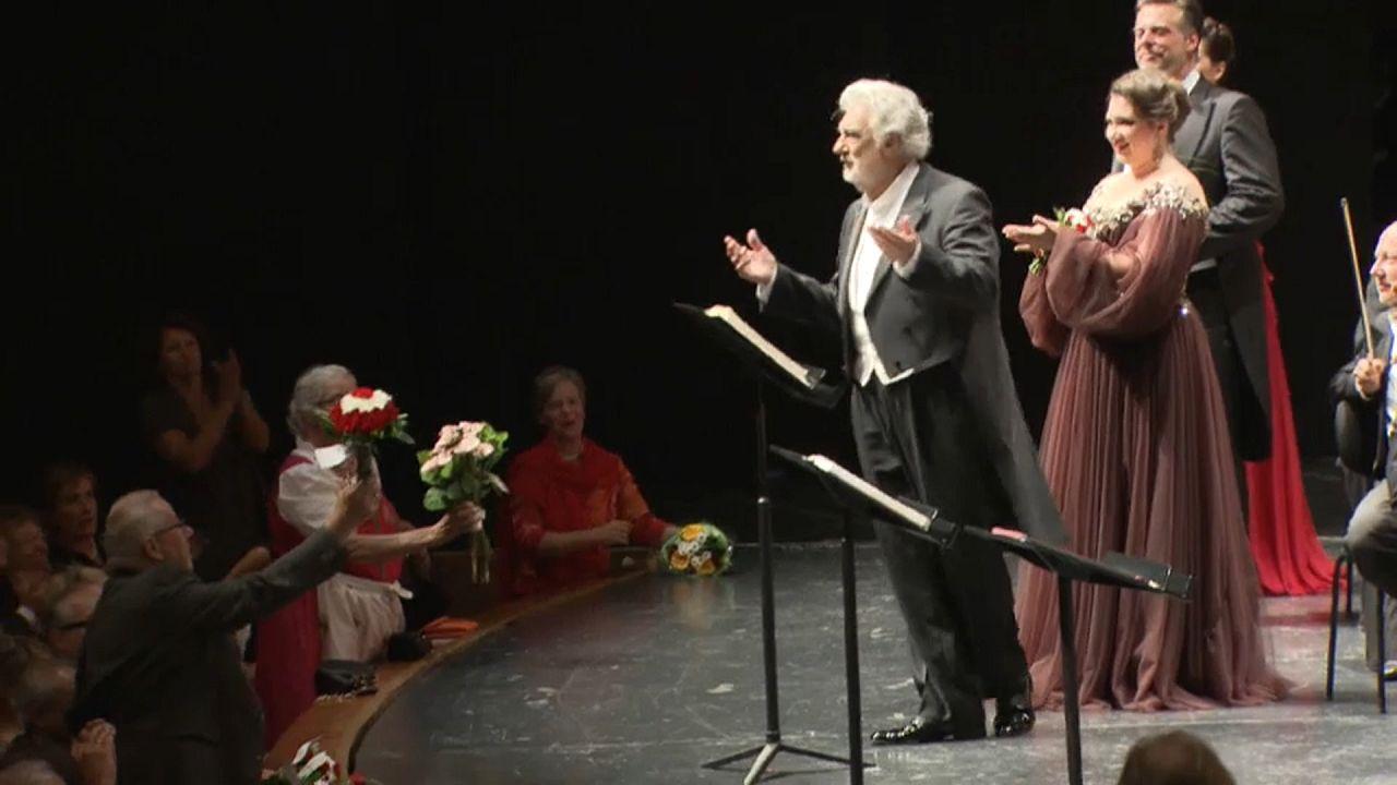 Plácido Domingo, ovacionado en Salzburgo tras las acusaciones de acoso