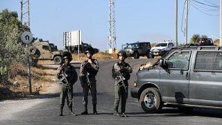 جنود إسرائيليون في الضفة الغربية
