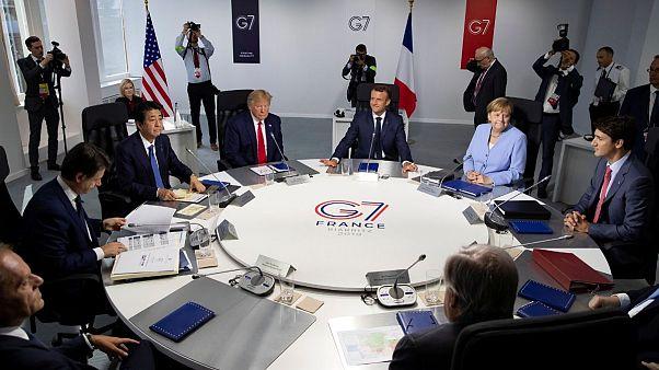 مرکل در نشست گروه ۷: منفعت همه ما در حل مسالمت آمیز مساله ایران است