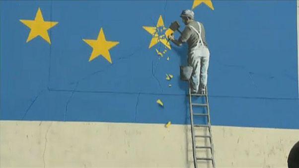 Desaparece la obra de Banksy dedicada al Brexit