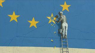 Ντόβερ: Εξαφανίστηκε έργο του Banksy για το Brexit