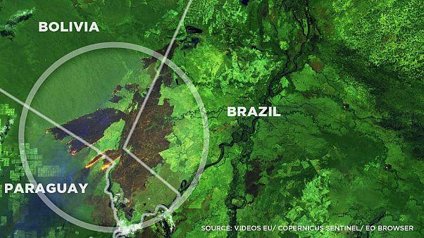 Már Paraguayra is átterjedtek az amazonasi erdőtüzek