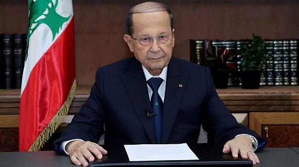 میشل عون رئیس جمهور لبنان