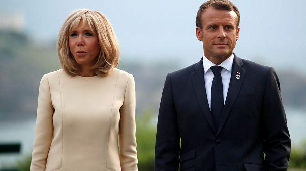 """A brazil elnök """"súlyosan tiszteletlen"""" megjegyzést tett a francia elnök feleségére"""
