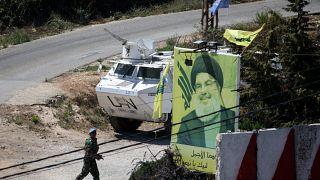 """مصدران: حزب الله يجهز """"لضربة مدروسة"""" ضد اسرائيل رداً على الطائرات المسيرة في بيروت"""