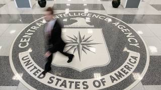 شعار وكالة المخابرات المركزية الأمريكية - صورة من أرشيف رويترز