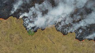 برزیل کمک ۲۰ میلیون دلاری گروه۷ برای کنترل آتش سوزی آمازون را رد کرد