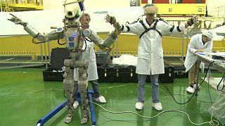 Bienvenue à bord de l'ISS ! Le robot humanoïde russe Fedor entre en action