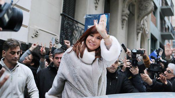 الرئيسة الأرجنتينية السابقة كريستينا كيرشنر