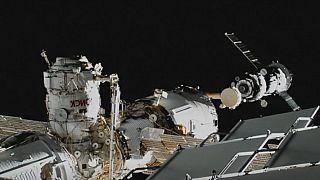 Rus insansı robotu FEDOR Uluslararası Uzay İstasyonuna ulaştı