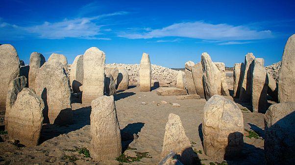 Una excepcional sequía rescata del olvido la rica historia megalítica de España