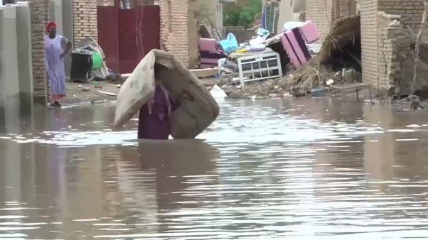 Cheias matam 62 pessoas no Sudão