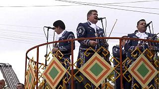 Mariachi bands from 25 countries gathered in Guadalajara