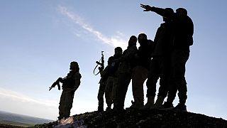 Suriye'nin kuzeyinde YPG güçleri