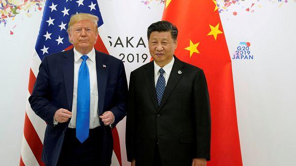 الرئيس الأمريكي دونالد ترامب ورئيس الصين- أرشيف رويترز