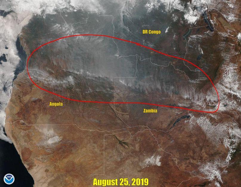 NASA/NOAA via REUTERS