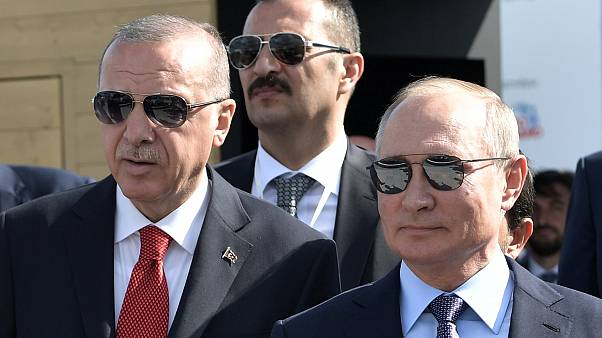 Путин и Эрдоган договорились о совместных действиях в Сирии