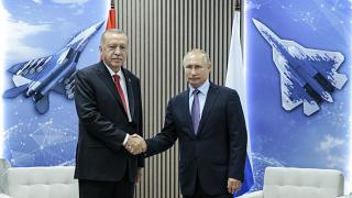 Πούτιν - Ερντογάν: Μαχητικά και... παγωτό
