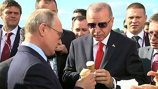 Syrie : Erdogan s'explique avec Poutine