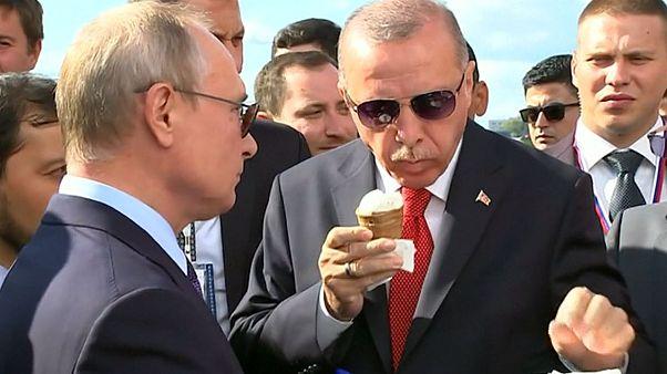 وقتی پوتین اردوغان را به بستنی دعوت میکند