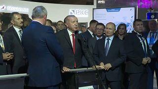 Erdoğan uzaydaki kozmonotlarla görüştü: İlim adına yolculuğunuzda sizi dünyadan izliyoruz