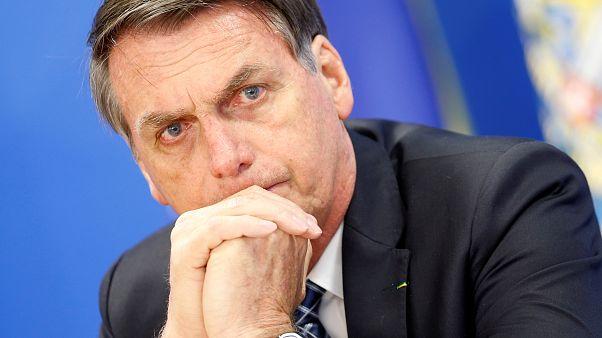 Bolsonaro: Brazília elfogadja a G7-gyorssegélyt, ha Macron visszakozik
