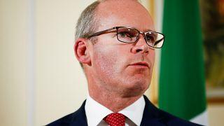 Ireland's Tanaiste and Minister for Foreign Affairs Simon Coveney