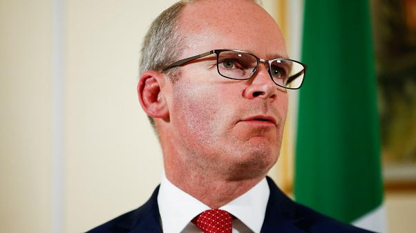 Ireland's Tanaiste and Minister for Foreign Affairs Simon Coveney