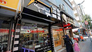 İstanbul'da Suriyeli girişimcilere ait bir dükkan