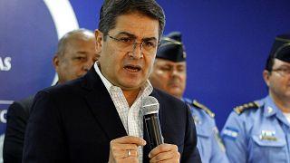 رئيس هندوراس خوان اورلاندو هيرنانديز
