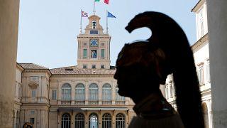 زعيم المعارضة الإيطالية والحزب الديمقراطي نيكولا زينغاريتي بعد لقائه رئيس الجمهورية اليوم