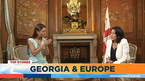Georgia wants to be a part of Europe, says president