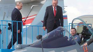 """""""Rusya ve Türkiye SU-57 ve SU-35 tipi savaş uçağı teslimatı için görüşmeler yapıyor"""""""