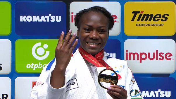 Clarisse Agbegnenou, championne 4 étoiles