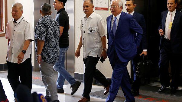 محاكمة رئيس الوزراء الماليزي السابق نجيب عبد الرزاق